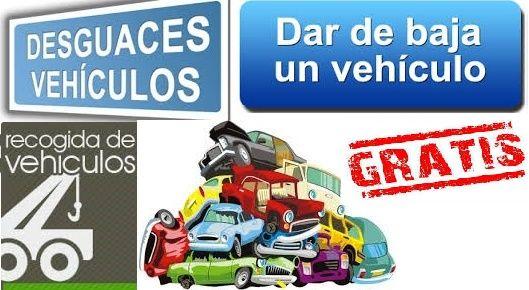 Dar de baja un vehiculo gratis for Recogida de muebles gratis