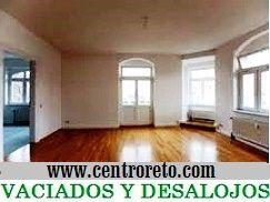 Vaciados de pisos vaciar de muebles - Centro reto madrid recogida muebles ...